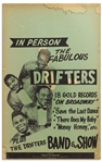 The Drifters Promotional Poster From the 1960s